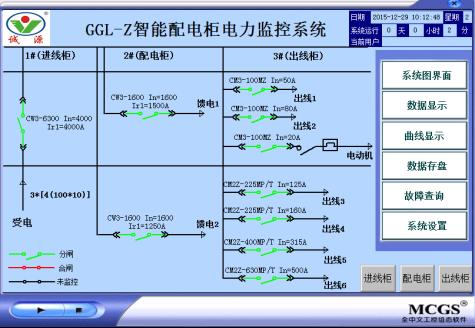 智能配电柜中电力监控系统的设计及应用