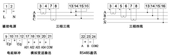 传感器-三相三线交流电压变送器