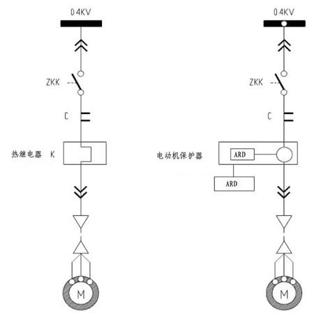 热继电器故障指示灯接线
