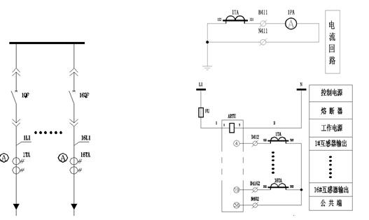 (1.黑龙江省水利水电勘测设计研究院,哈尔滨 150080; 2.江苏安科瑞电器制造有限公司,江苏 江阴 214400) 摘 要 对馈线众多的低压配电线路,目前主要有以下方法来实现系统监测:1.采用电流互感器接多功能电力监控仪加485通讯表实现多路系统监测;2采用电流互感器接变送器来实现;、使用上述两种方案成本高、投资大。本文介绍一种低压双绕组电流互感器,它与ARTU-M32配合使用可以,实现对众多终端配电线路进行遥测的智能配电方案。该方案具有成本低、投资少、安装接线简便等优点,有利于低压智能配电的进一步