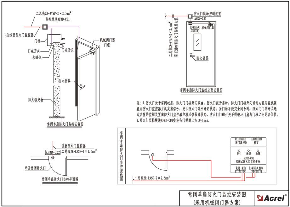 消防终端器结构图