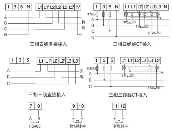 单相电能表 导轨式安装多功能电表dds1352